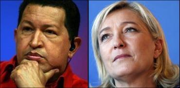 Chávez vs Le Pen