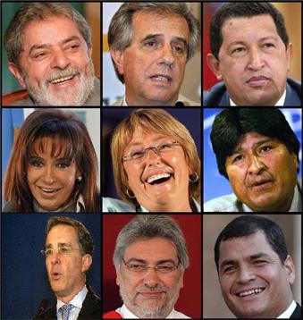 Presidentes de América Latina