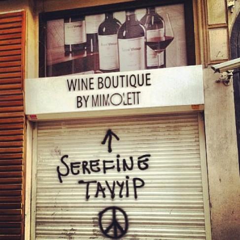 A tu salud Tayyip - En referencia a las nuevas leyes que restringen la venta de alcohol